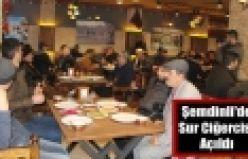 Şemdinli'de Sur Ciğercisi açıldı