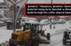 Şemdinli ve Derecik ilçelerinde köy yolları kapandı
