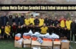 İş adamı Metin Özel'den Şemdinli Gücü futbol takımına destek