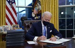 ABD Başkanı Biden'dan salgınla mücadele için...