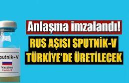 Anlaşma imzalandı: Rus aşısı Sputnik V Türkiye'de...