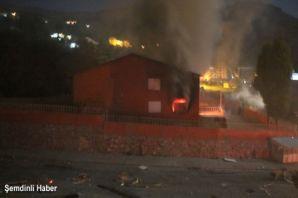Şemdinli Yavuz Sultan Selim İlköğretim Okulu ateşe