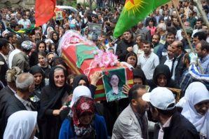 Gever'de 3 YPG'linin cenazesi toprağa verildi