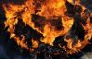 2015'in ilk Newroz ateşi Doğubayazıt'da yakıldı