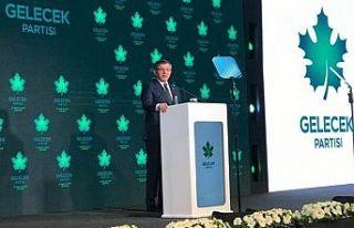 Ahmet Davutoğlu: Gelecek Partisi'nin kendi Cumhurbaşkanı...