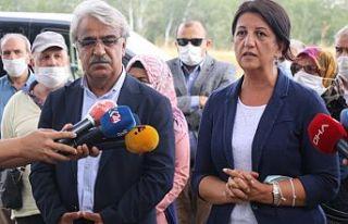 Buldan ve Sancar, Demirtaş'ı ziyaret etti:...