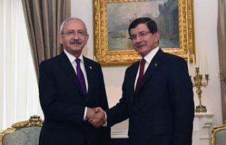 Kemal Kılıçdaroğlu'ndan Ahmet Davutoğlu'na...