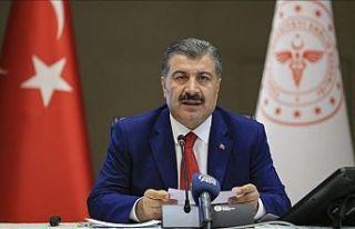 Sağlık Bakanı Fahrettin Koca: Bugün 56 can aramızdan...