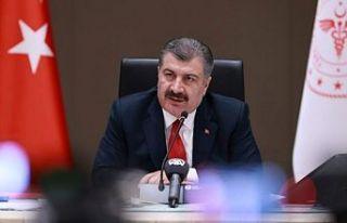 Bakan Fahrettin Koca: İstanbul'da vaka sayısı...