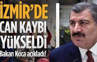 Bakan Fahrettin Koca: İzmir'de can kaybı 35'e...
