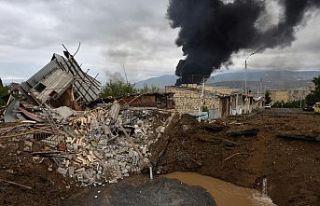 Dağlık Karabağ'da 'insani ateşkes'...