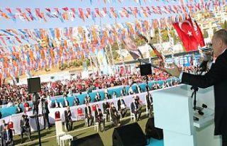 Erdoğan: Türkiye'nin 80 vilayetinde ne varsa...