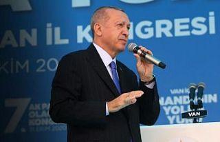 Erdoğan: Vesayetçi yapı afete dayanıklı yapıyı...