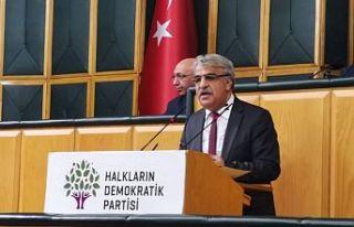 HDP Eş Genel Başkanı Mithat Sancar: Bu sabah da...