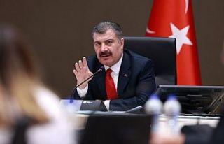 Koca: Korona virüsü vakaları İstanbul'da...