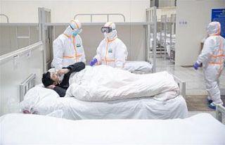 Korona virüsü salgınında can kaybı 8500'ü...