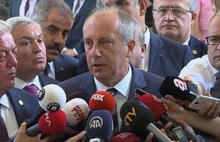 Muharrem İnce'den Kemal Kılıçdaroğlu'na:...
