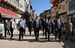 Vali İdris Akbıyık Şemdinli ilçesini ziyaret...