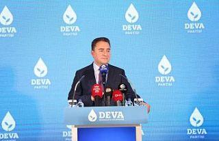 Babacan: Direksiyona başka bir partinin genel başkanı...