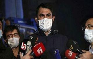 Bakan Murat Kurum: Hane başı 30 bin lira eşya yardımı...