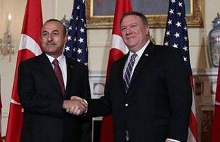 Bloomberg: Pompeo Çavuşoğlu'na 'Görüşmek...