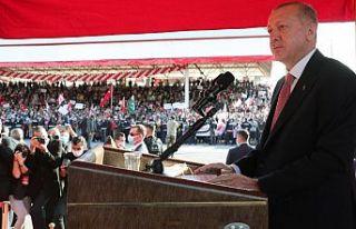 Erdoğan, KKTC'de: Diplomasi oyunlarına artık...