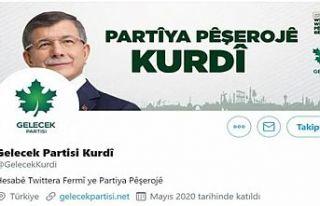 Gelecek Partisi'nde Kürtçe krizi: Twitter hesabı...