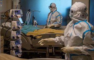 Korona virüsü salgınında ağır hasta sayısı...