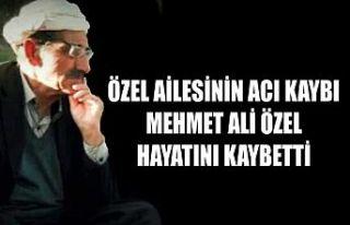 Özel Ailesinin Acı Kaybı: Mehmet Ali Özel Vefat...