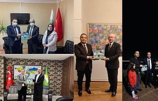 Siyasi parti liderlerinden Bejan'a destek