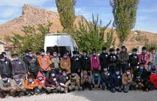 Van'da 37 mülteci gözaltına alındı