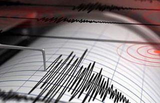 Ege'de 4 büyüklüğünde deprem
