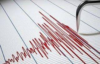 Elazığ'da 4,1 büyüklüğünde deprem
