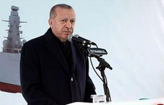 Erdoğan: Tank palet fabrikasına 20 milyar dolar...