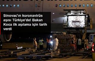 Koronavirüs aşıları Türkiye'de