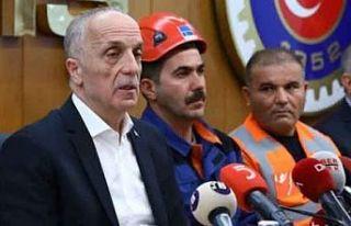 Türk-İş Başkanı: Asgari ücret 3 bin TL'nin...