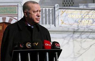 Cumhurbaşkanı Erdoğan'dan 'Boğaziçi'...