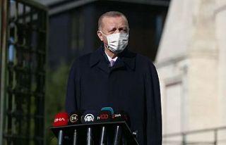Erdoğan'dan 'gıda' açıklaması:...
