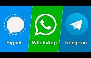 WhatsApp tepkileri büyüyor: Signal ve Telegram güç...