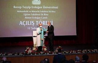 Erdoğan: Recep Tayyip Erdoğan Üniversitesi'nde...