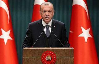 Erdoğan: Türkiye'nin yeni bir anayasayı tartışmasının...