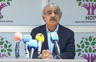 HDP Eş Genel Başkanı Sancar: Bölünme ve yeni...