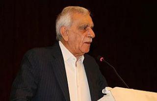 Ahmet Türk: Kürt halkını ve demokrasiye inananları...
