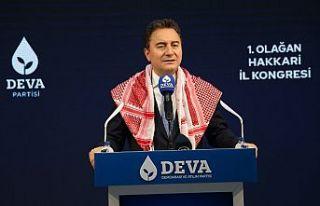 Babacan Hakkari'de: Kürtçeyi yeniden bilinmeyen...