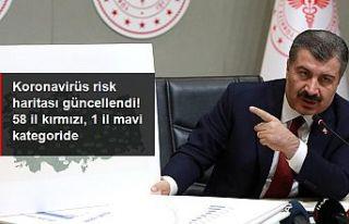 Covid-19 salgınında 'çok yüksek riskli'...