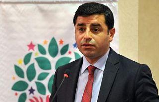 Demirtaş'tan HDP ve Gergerlioğlu'na Destek...