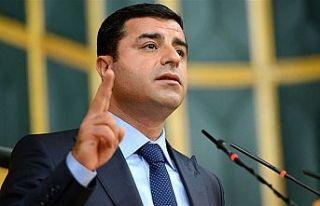 Demirtaş'tan 'barış' çağrısı:...