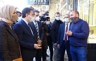 DEVA Partisi Genel Başkanı Babacan, Şemdinli'de