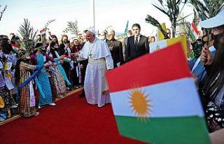 Papa Franciscus: Kürdistan'da özgürlük var