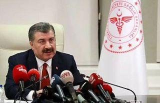 Sağlık Bakanı Koca: Kabus 2021'de devam etmeyecek